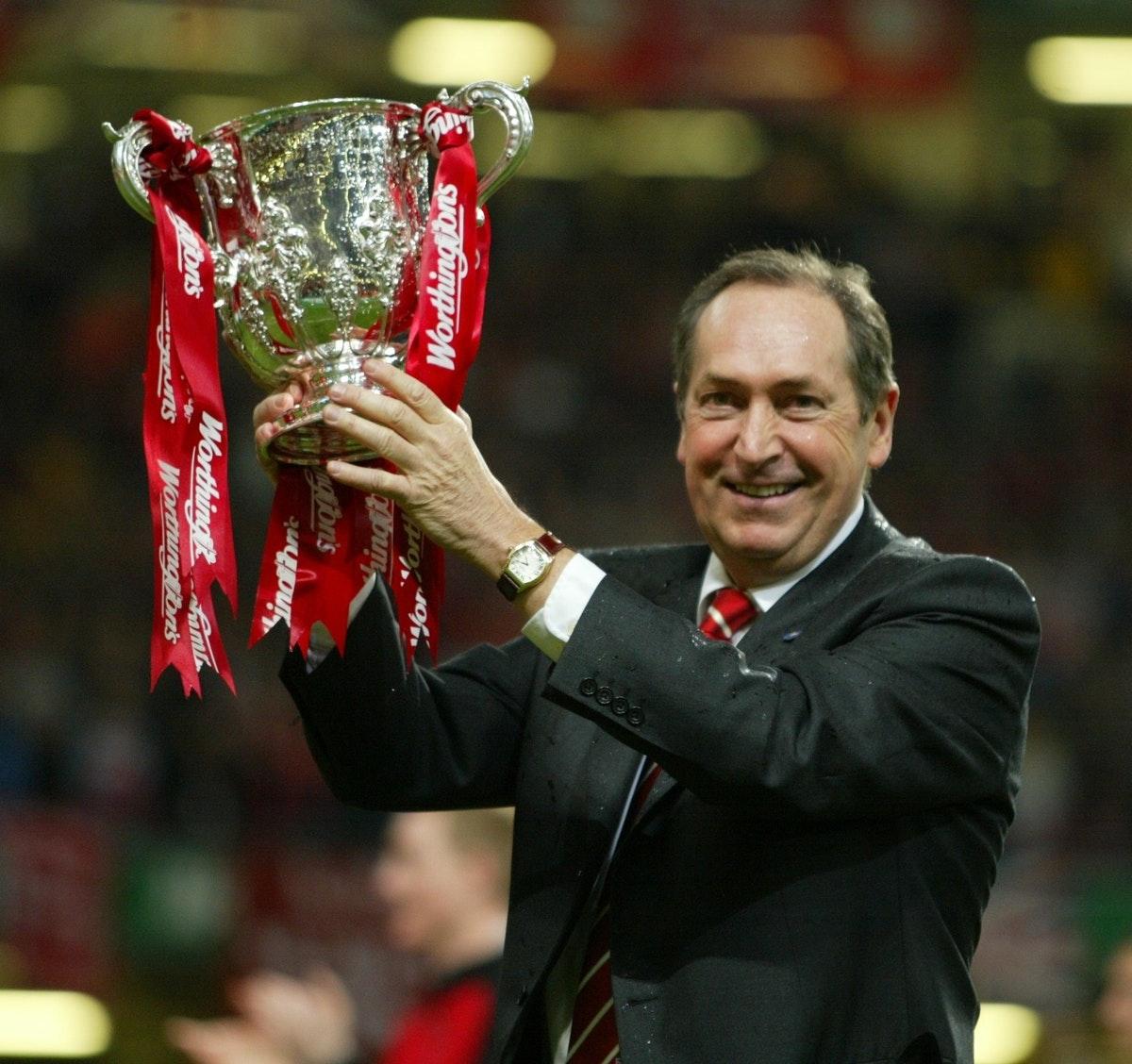 Gerard Houllier tok Liverpool til flere troféer på 2000-tallet.