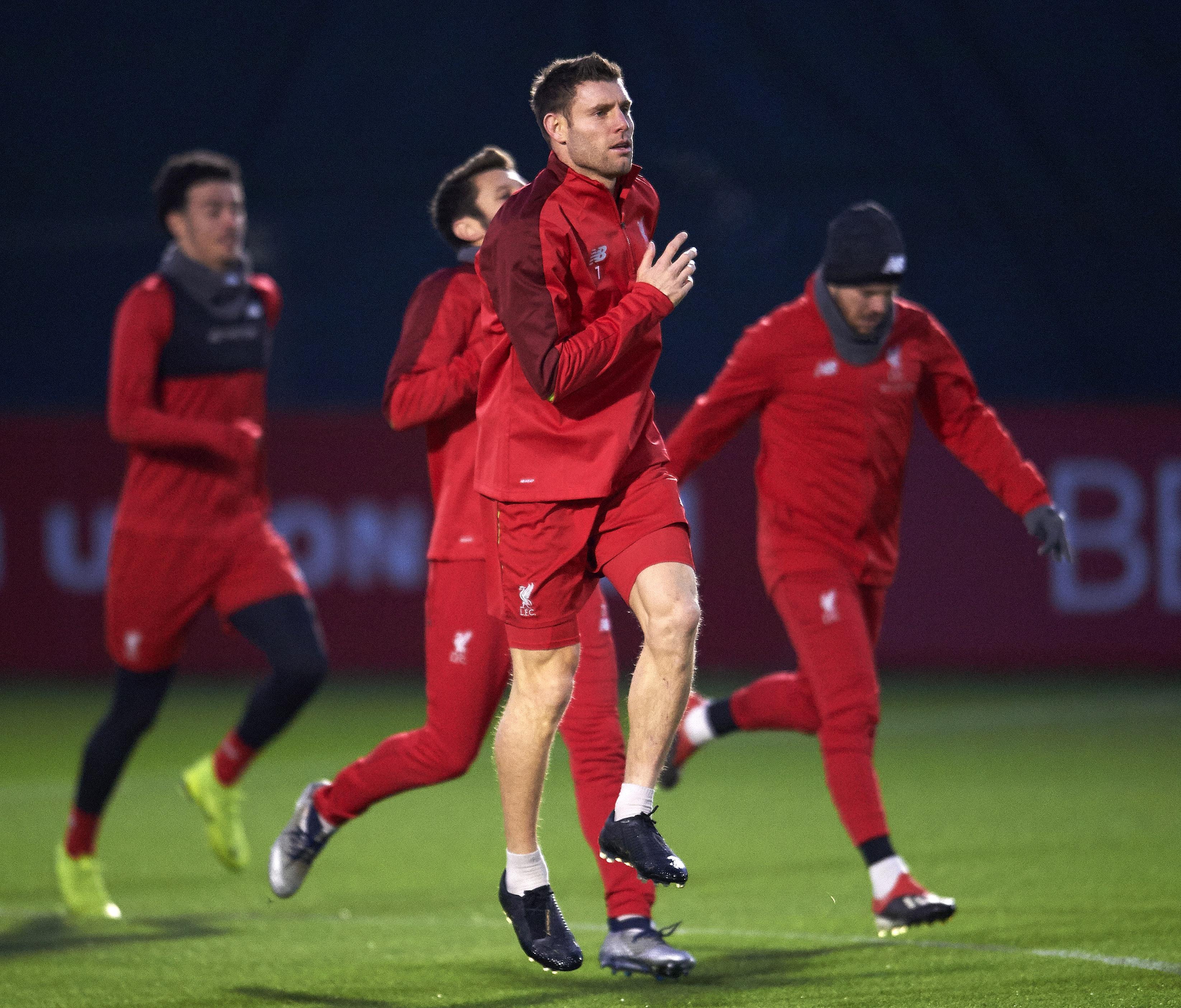 Milner er tilbake i full trening