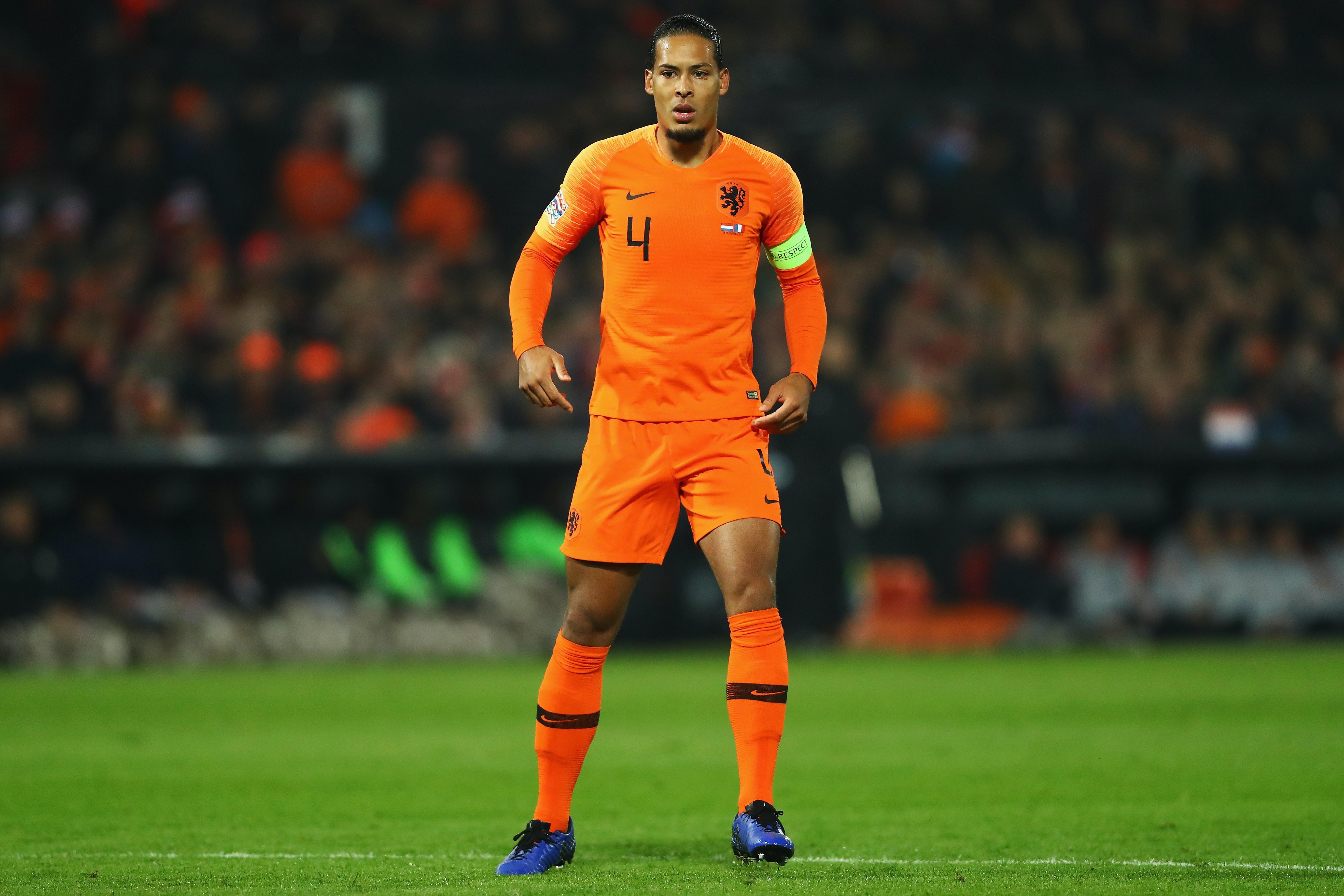 To røde på scoringslisten da Nederland startet med storseier
