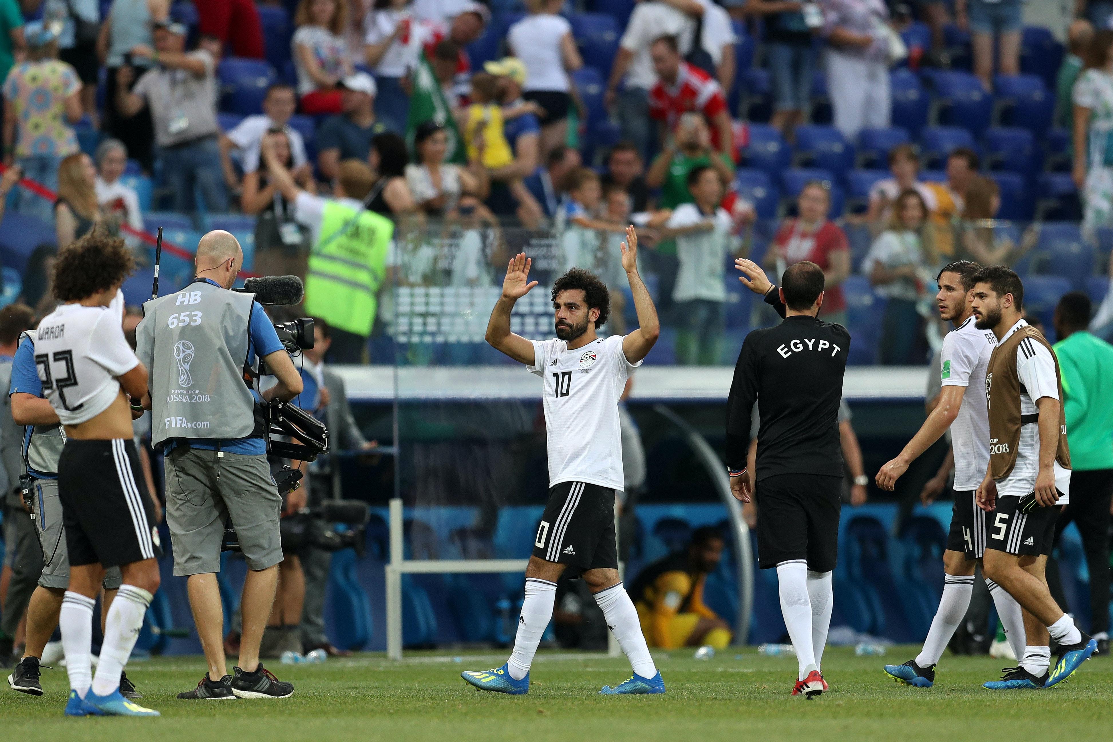 Salah med scoring da Egypt avanserte fra gruppen