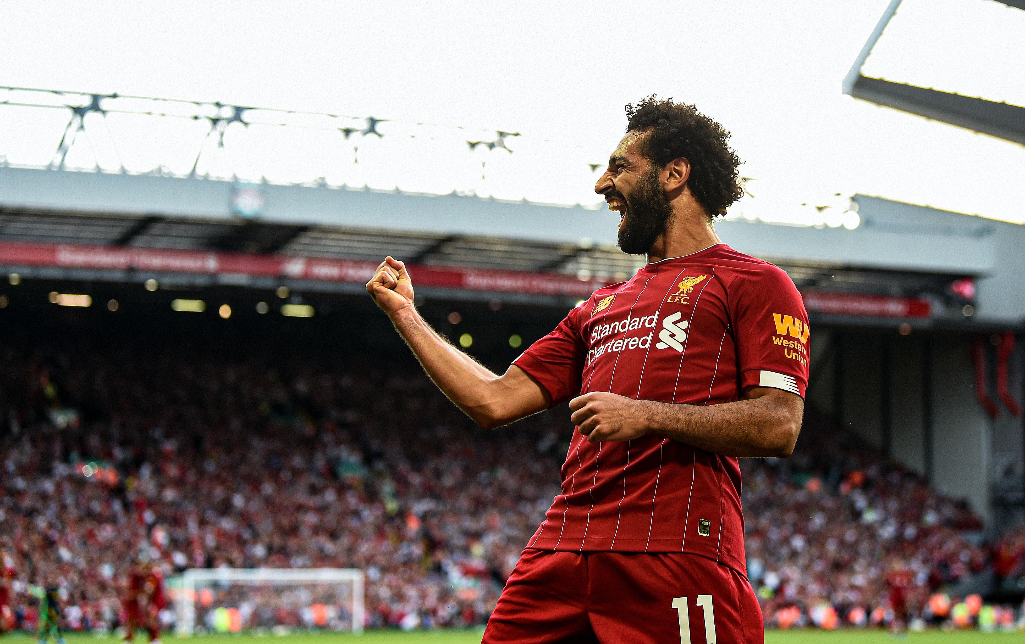 Dette er faktisk Salahs beste sesongstart i Liverpool