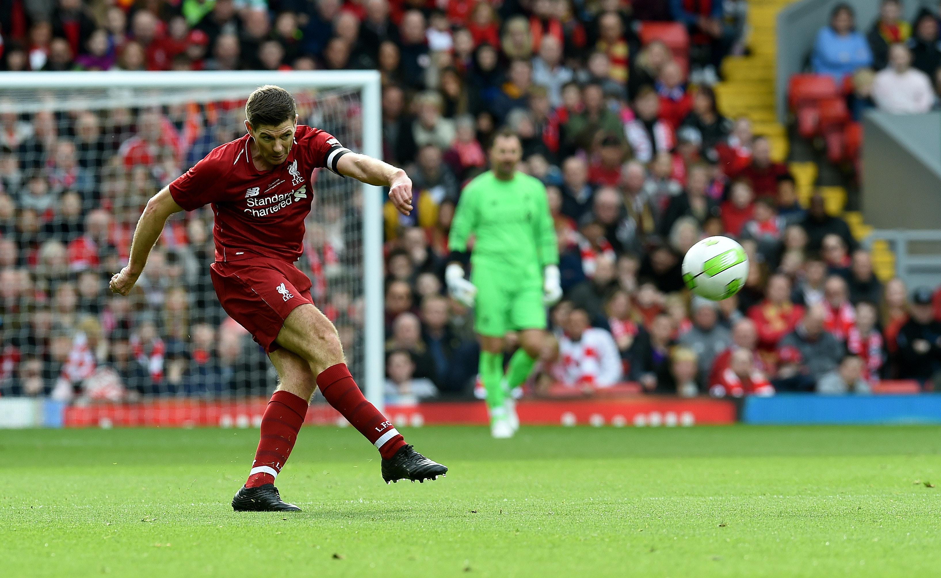 Gerrard på både vinner- og taperlaget