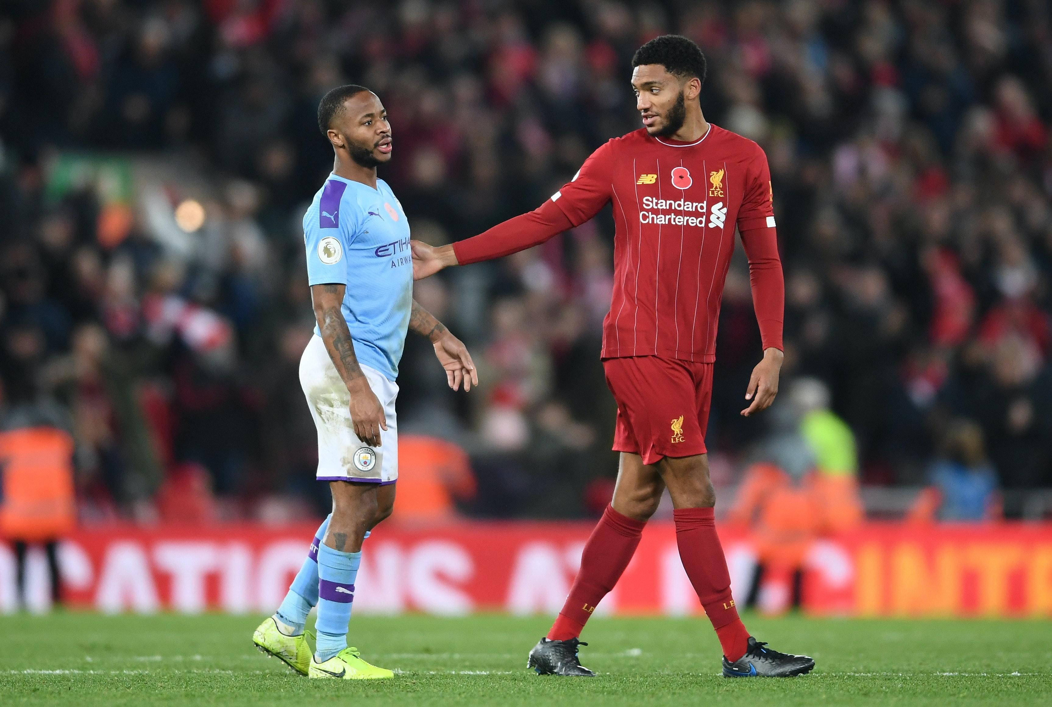Gomez og Sterling måtte skilles på England-trening
